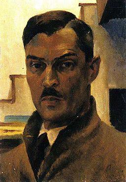 Світлина: Вікіпедія. Арнаутов Віктор  « Автопортрет » , 1941