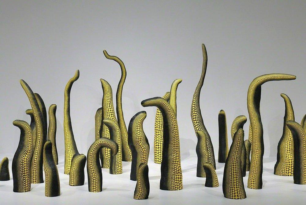 Інсталяці Яйої Кусама. Світлина: artsy.net