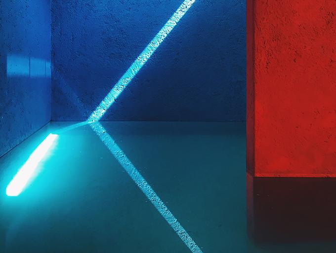 «Блакитне світло». Світлина: Jiangying Guo