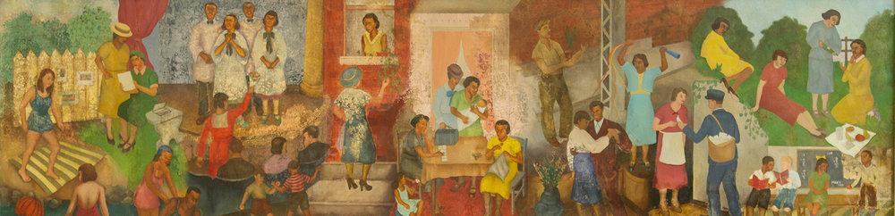 Джорджет Сібрук «Відпочинок у Гарлемі». Світлина: Wikipеdia