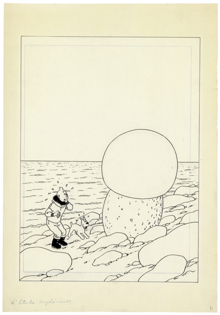 Ерже,  Tintin And The Shooting Star