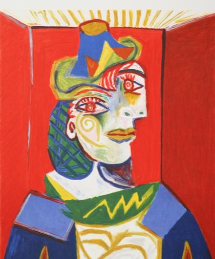 Пабло Пікассо «Бюст жінки». Світлина: tick-talk.ch