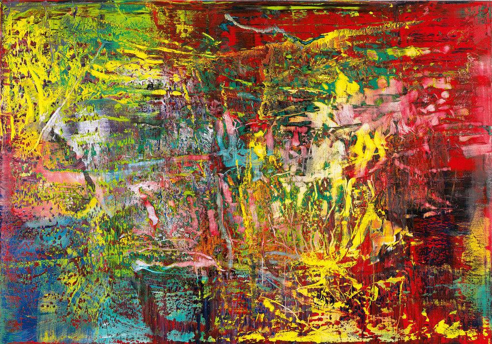Герхард Ріхтер, абстрактний живопис (946-3), 2016