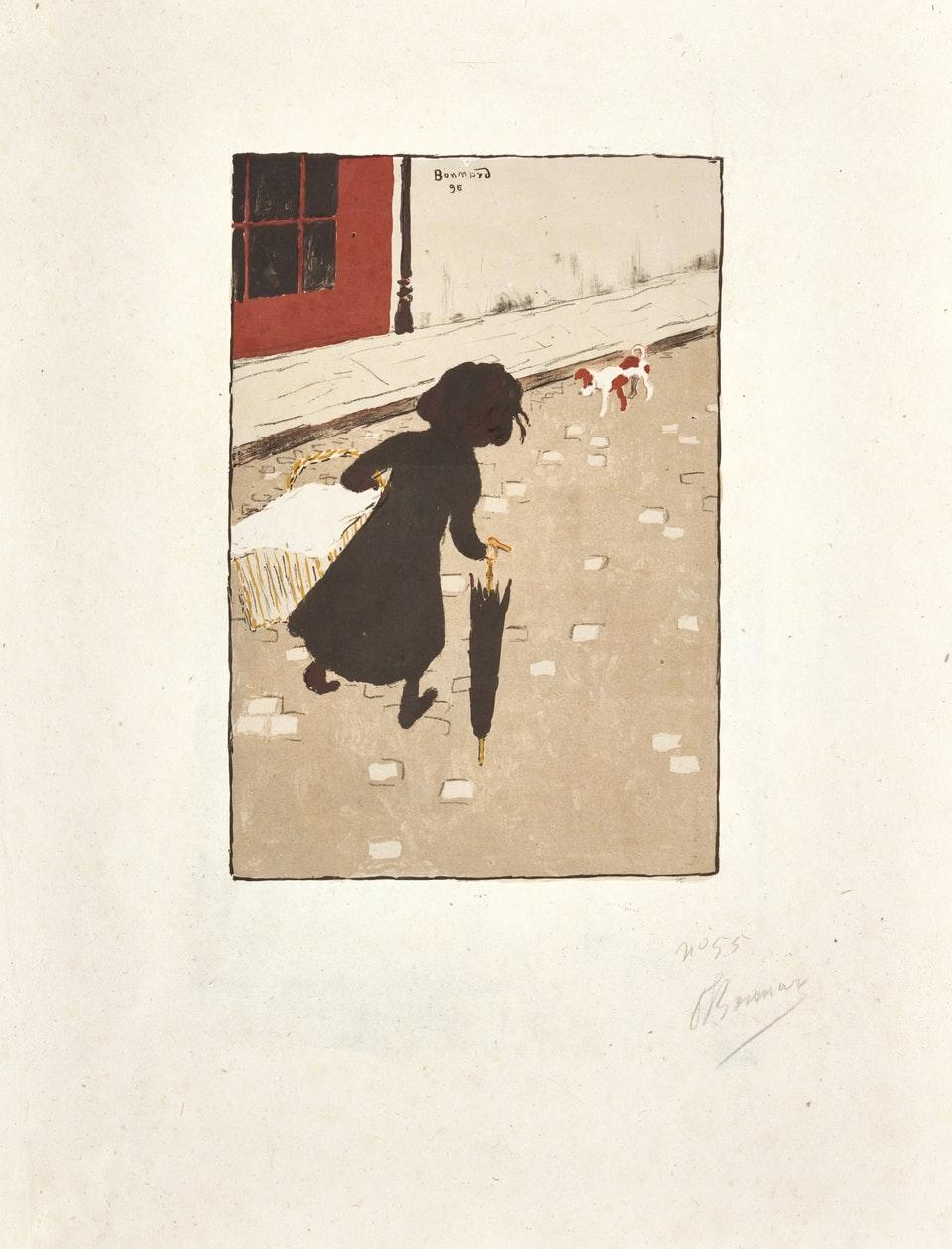 П'єр Боннар, «Маленька прачка». Світлина: 2019 Artists Rights Society (ARS), New York / ADAGP, Paris