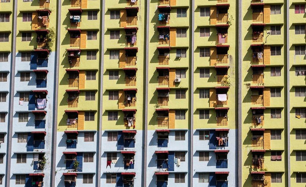 Житлові будинки Малайзії