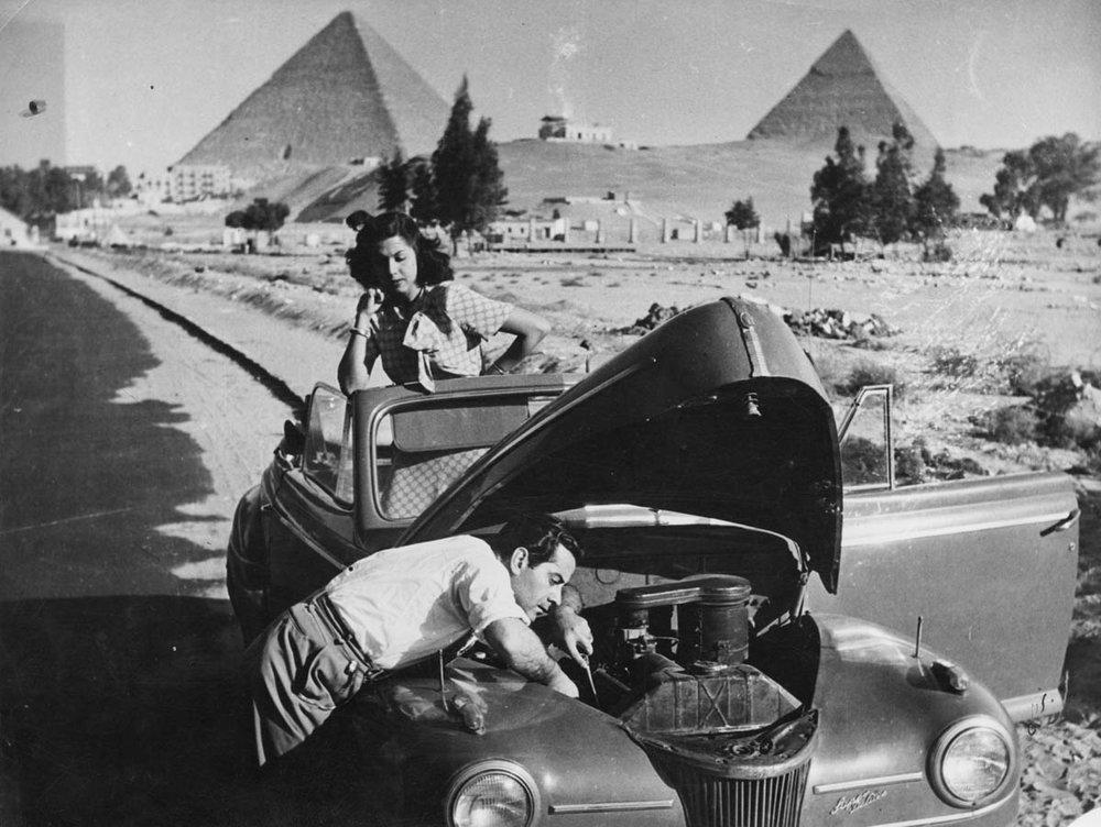 Фото: ARAB IMAGE FOUNDATION.Фарід ель-Атраш і Самія Гамаль, Каїр, Єгипет.