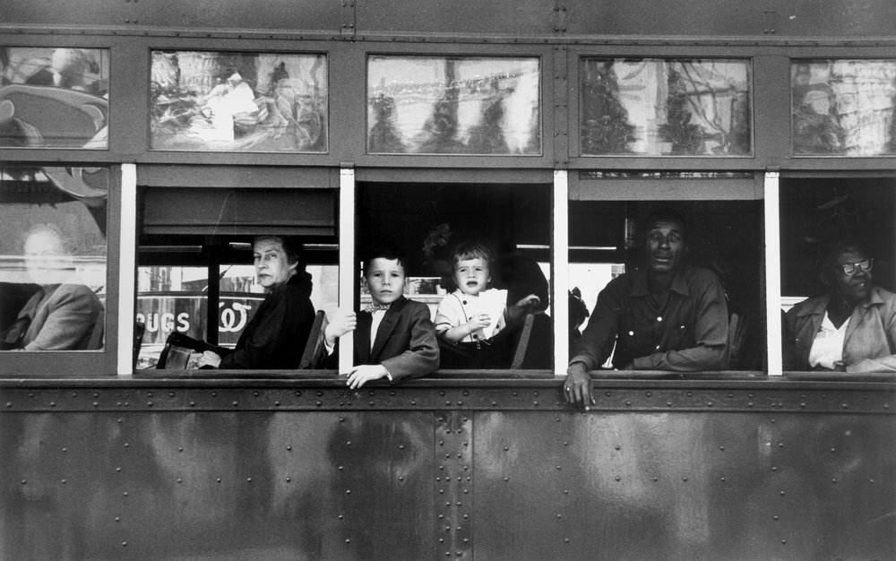 «Trolley — New Orleans», 1955