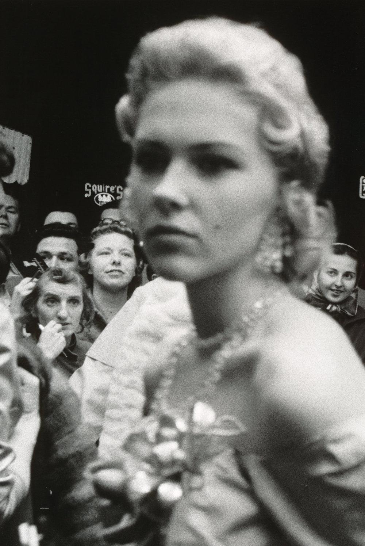 «Movie premiere, Hollywood», 1955.
