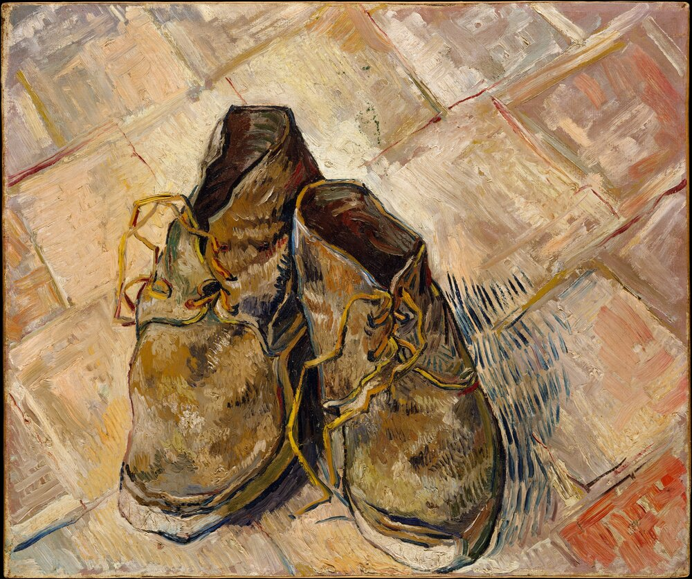 Вінсент ван Гог, Shoes, 1888