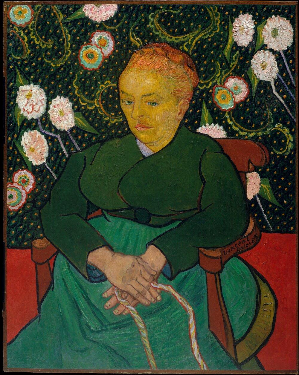 Вінсент ван Гог, La Berceuse, 1889