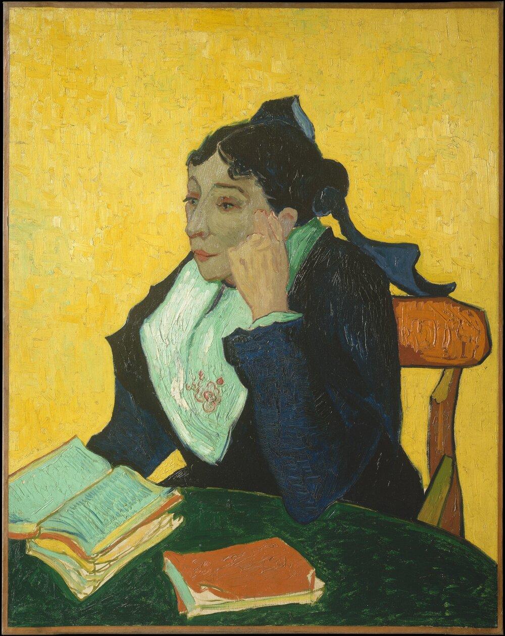 Вінсент ван Гог, L'Arlésienne: Madame Joseph-Michel Ginoux 1888–1889