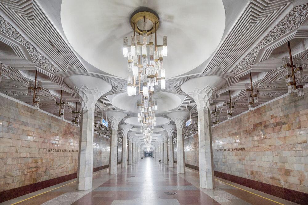«Мустакіллік майдоні», Ташкент. Світлина: Крістофер Гервіг