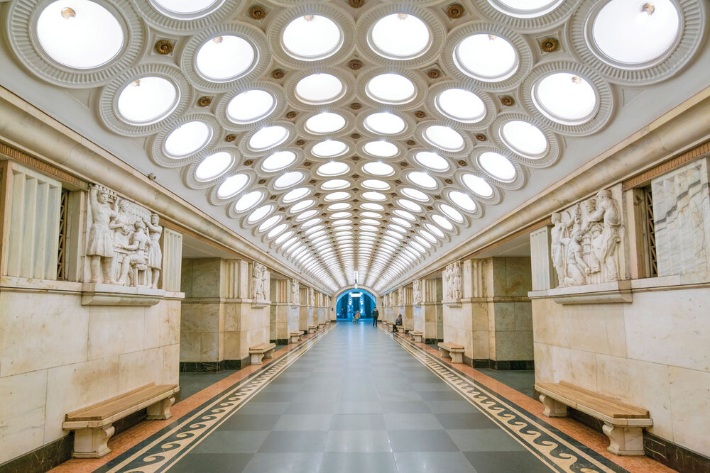 «Електрозаводська», Москва. Світлина: Крістофер Гервіг