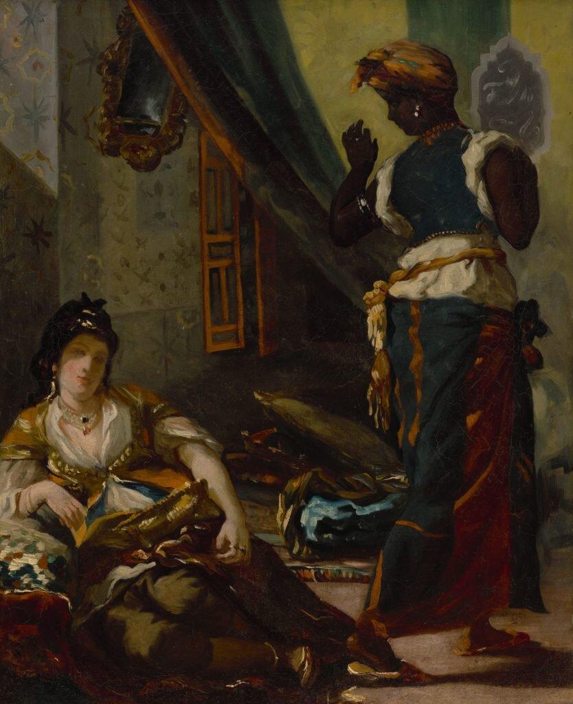 «Алжирські жінки». Світлина: Museum of Fine Arts, Houston