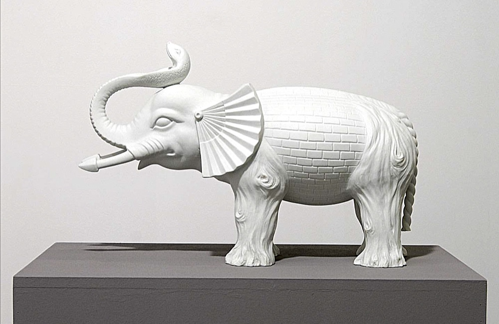 Бабак Голкар. «Слон у темряві». Світлина: Галерея Sabrina Amrani
