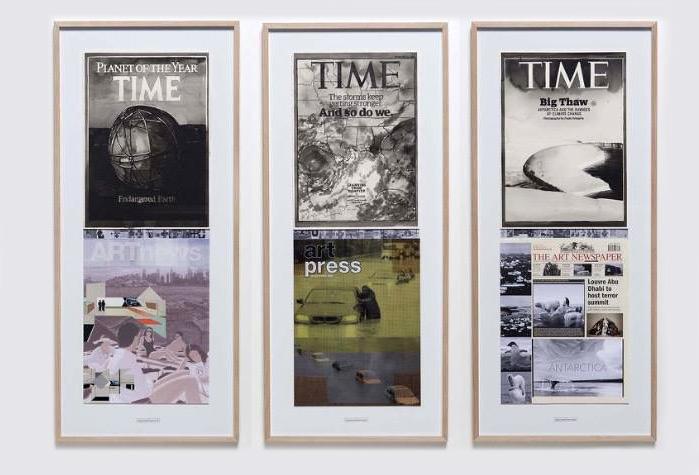 Раденко Мілак і Роман Ураньєка. Робота з серії «Дати суб'єктивної хроніки зміни клімату». Світлина: artsy.net