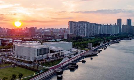 Центр Помпіду-Шанхай. Світлина: Centre Pompidou / dpa