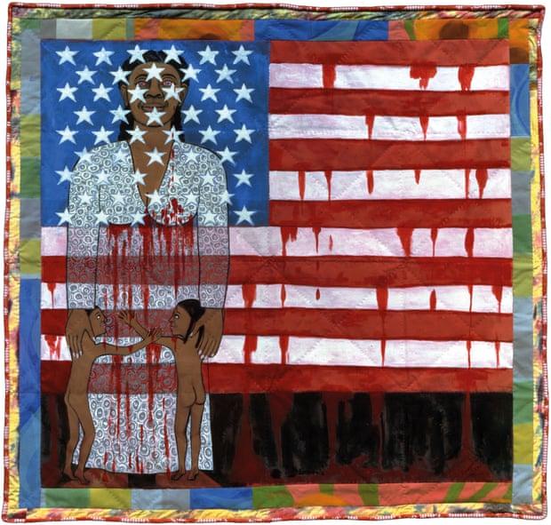 Фото:ARS, New York «Кровотеча прапора», 1997