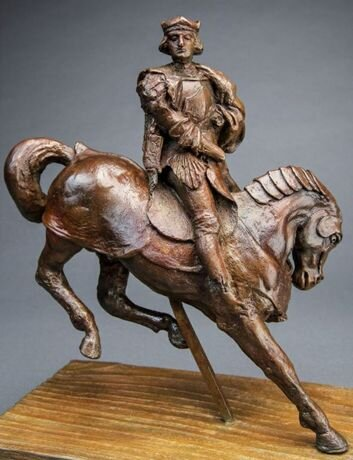 Кінь і вершник. Світлина: Guernsey's