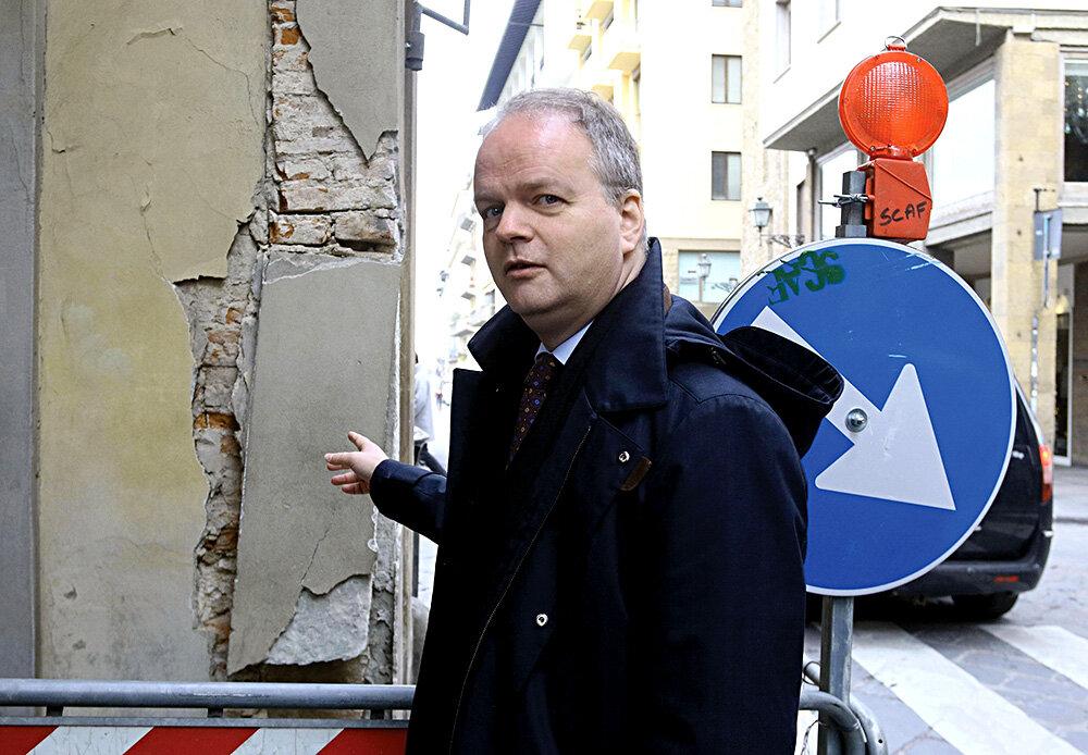 Директор Галереї Уффіці Айке Шмідт. Світлина:: EPA / Claudio Giovannini / ТАСС