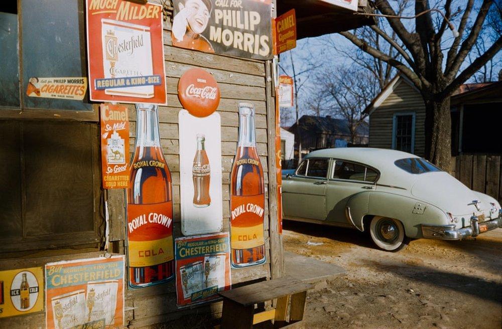 Рекламні вивіски, південні штати, 1954.