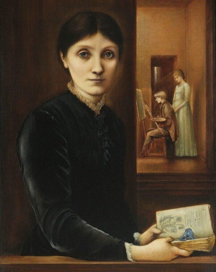 Едвард Берн-Джонс портрет Джорджіни Берн-Джонс та дітей, 1883. Світлина: Sotheby's