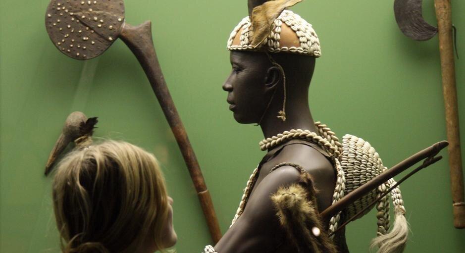 В експозиції Лейпцігського музею Грассі