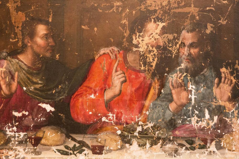 Плавціла Неллі «Таємна вечеря» до реставрації