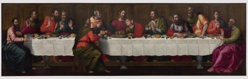 Плавціла Неллі «Таємна вечеря» після реставрації