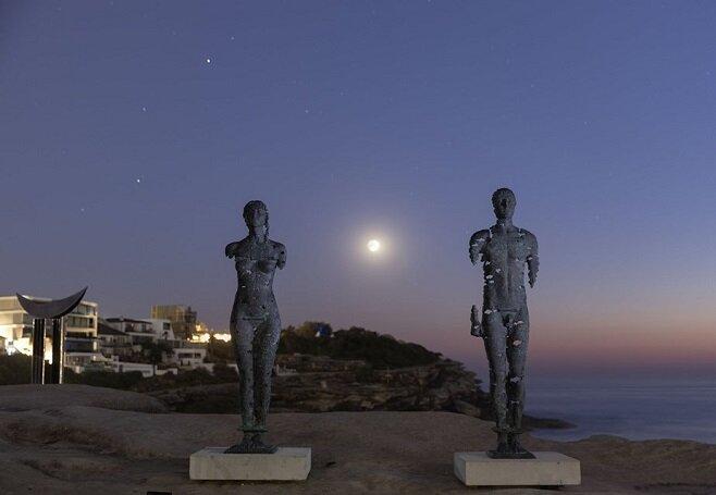 Скульптура Єгора Зігури у Сіднеї. Світлина: AFP