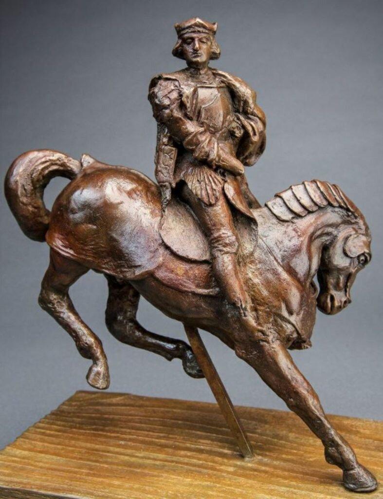 «Кінь і вершник». Світлина: Guernsey's
