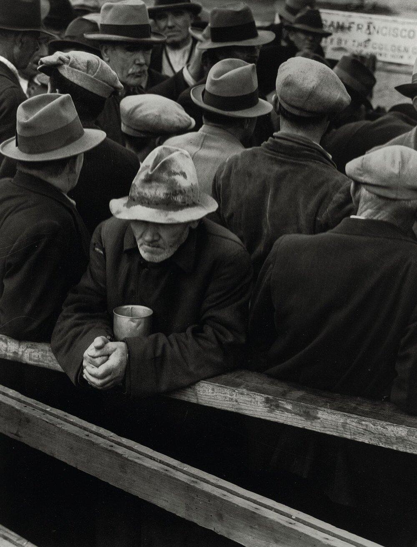 Доротея Ланж, The White Angel Breadline, 1932