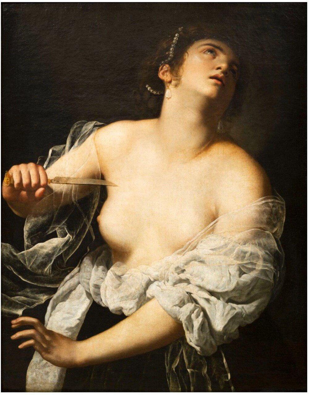 Артемізія Джентілескі «Лукреція». Світлина:  ArtFragment