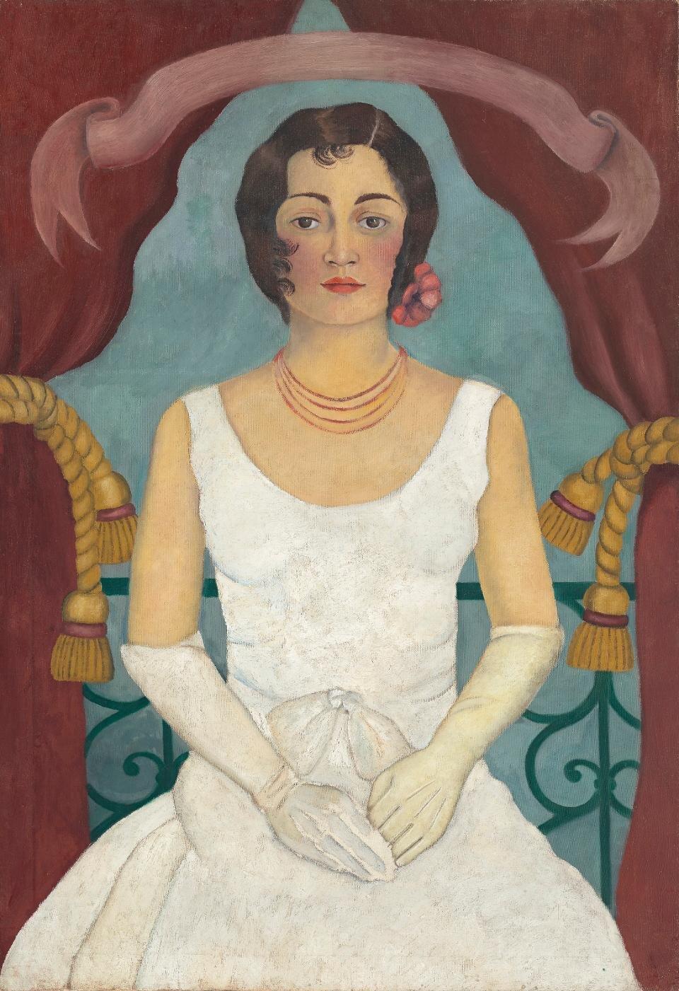 Фріда Кало «Портрет жінки в білому», 1929. Світлина:  Forbs