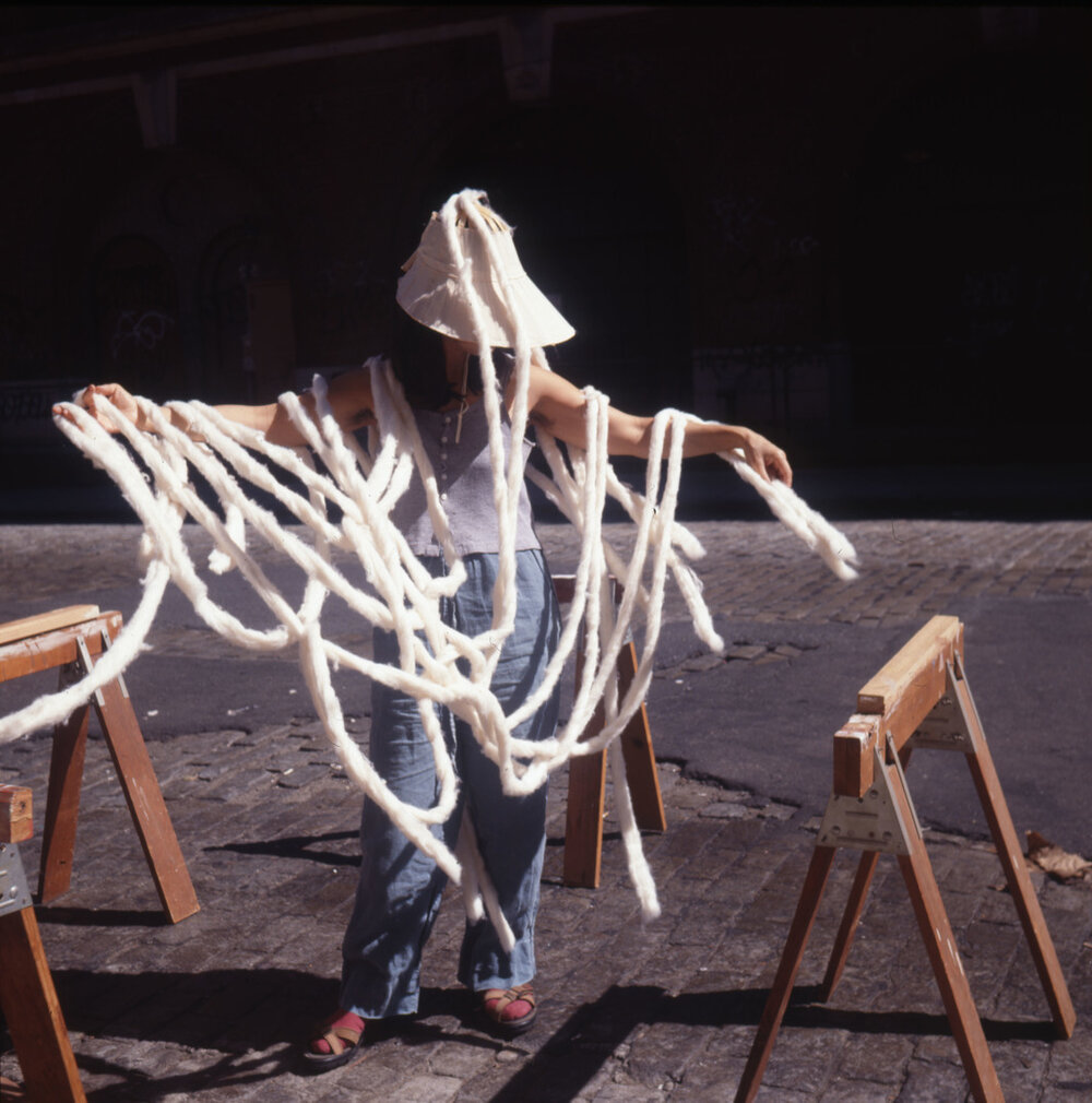 Сесілія Вікунья , 1999.  Світлина: Lehmann Maupin