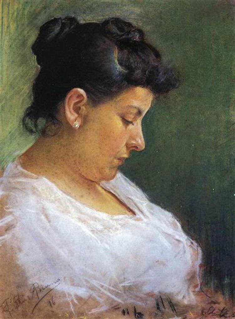 «Портрет матері-художника», 1896