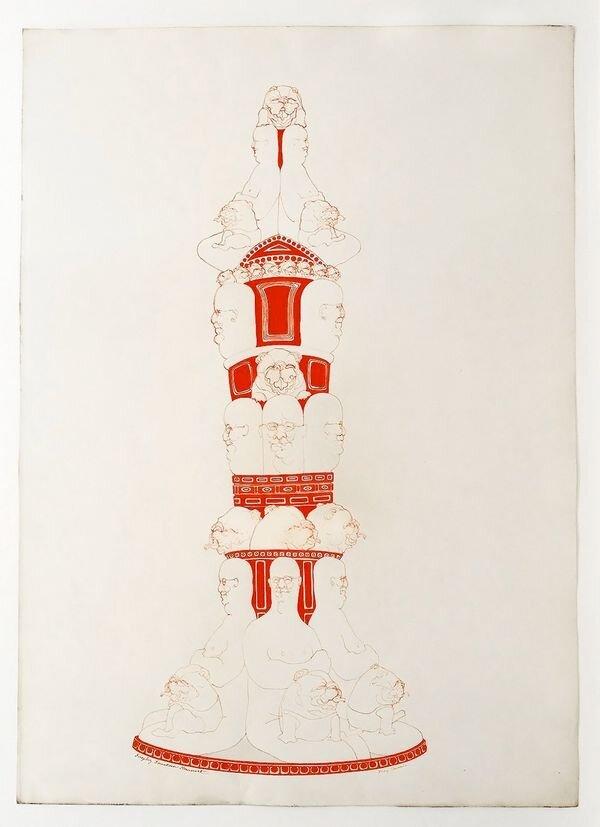 Fireplug Fountain Monument, б. 1970, © RYAN LEE, New York
