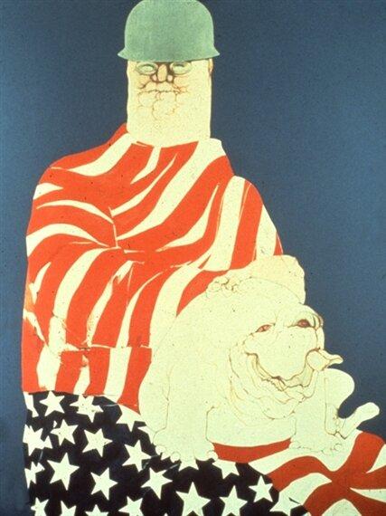 Big Daddy Draped, 1971. ©  mutualart