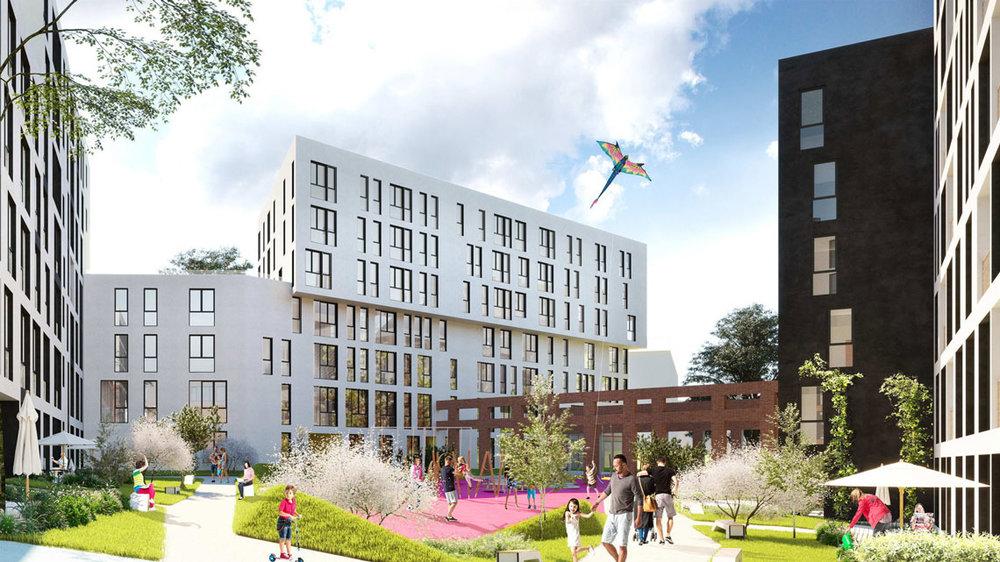 Проект для передмістя Львова