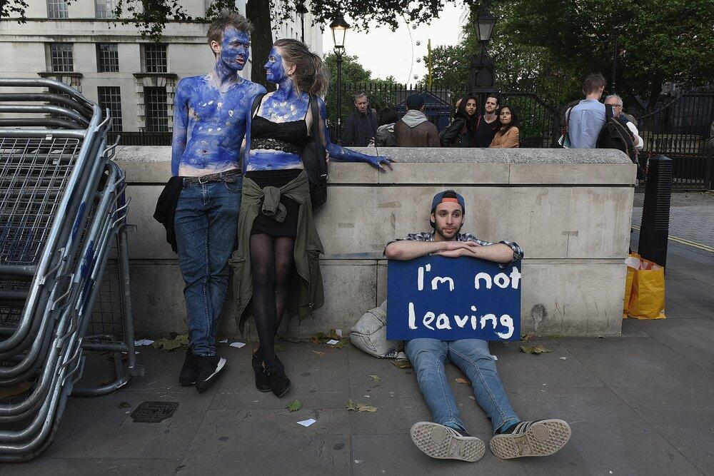 Акція проти Брекзіту. Mary Turner/Getty Images