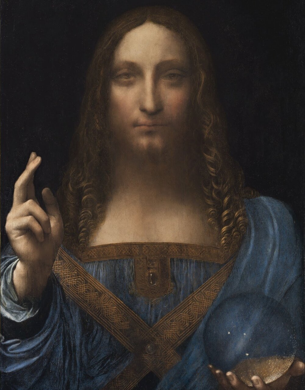 Леонардо да Вінчі, «Спаситель світу», 450 мільйона доларів