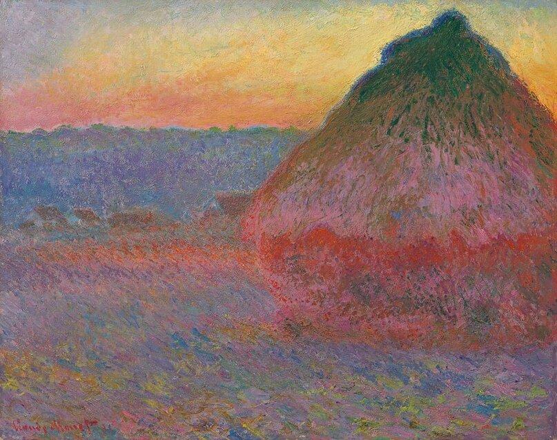 Клод Моне, «Стіжки сіна», Sotheby's, 110,7 мільйона доларів
