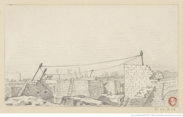 Ескіз. Світлина: Hippolyte Blancard / Gallica/ BnF