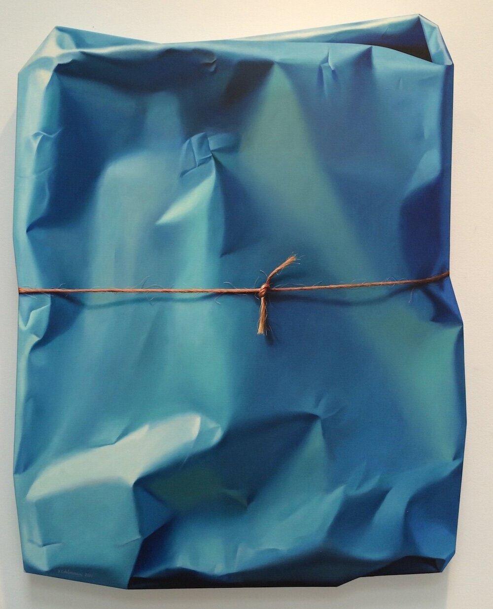 Іржо Едельман Detection of blue vibration II, 2014.  Світлина : Craighead Green Gallery