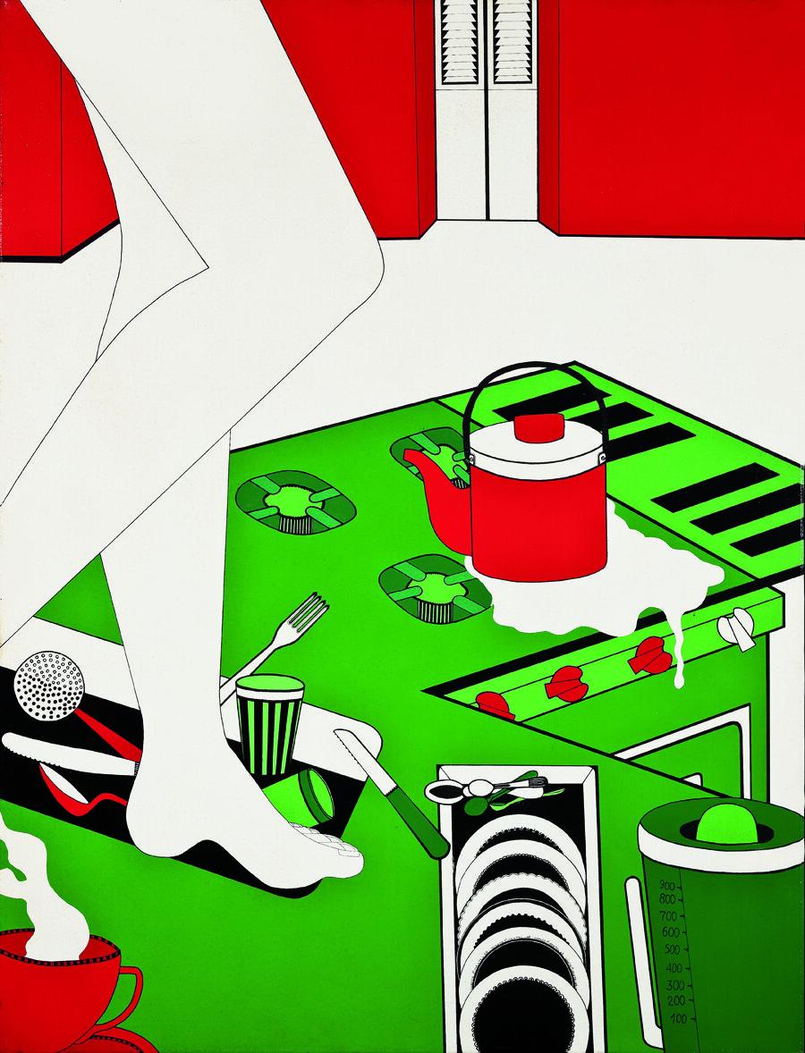 Ванда Піментель, Série Envolvimento, 1968. Світлина: Coleção Marisa e Arthur Peixoto, Rio de Janeiro and Museu de Arte de São Paulo (MASP), São Paulo; фтограф Marco Terranova