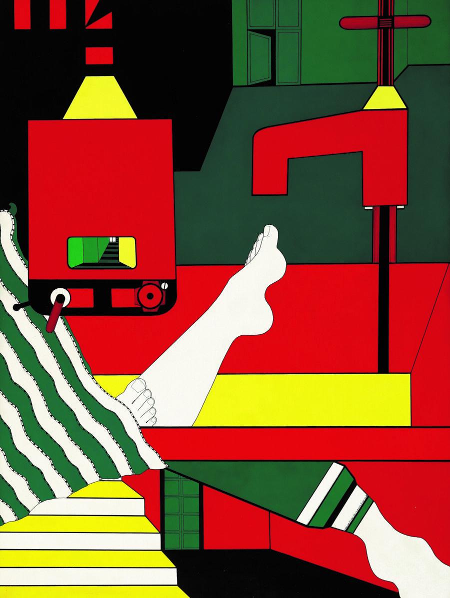 Ванда Піментель, Série Envolvimento, 1968, Світлина: Coleção Marisa e Arthur Peixoto, Rio de Janeiro and Museu de Arte de São Paulo (MASP), São Paulo; фтограф Marco Terranova