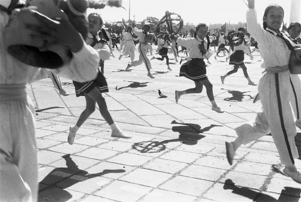 Світкування дев'ятої річниці Народної Республіки. Пекін, 1 жовтня, 1958
