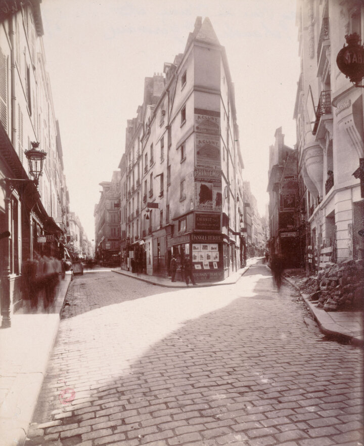 Ежен Атже, Coin des rues de Seine et de l'Echaudé, 6ème arrondissement, 1911