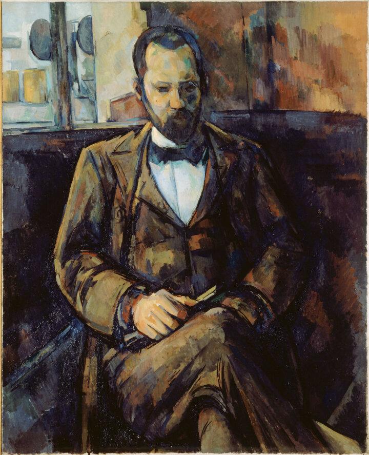 Поль Сезанн, Portrait d'Ambroise Vollard, 1899