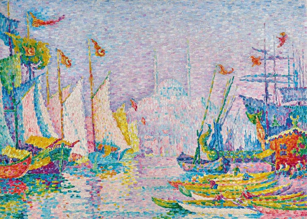 Поль Синьяк, «Ля-Корн-д'Ор», 1907. Світлина: Sotheby's